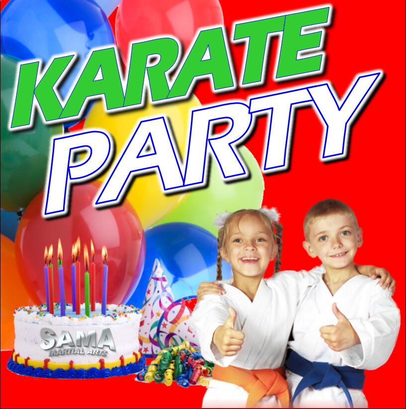 SAMA Karate Birthday Party