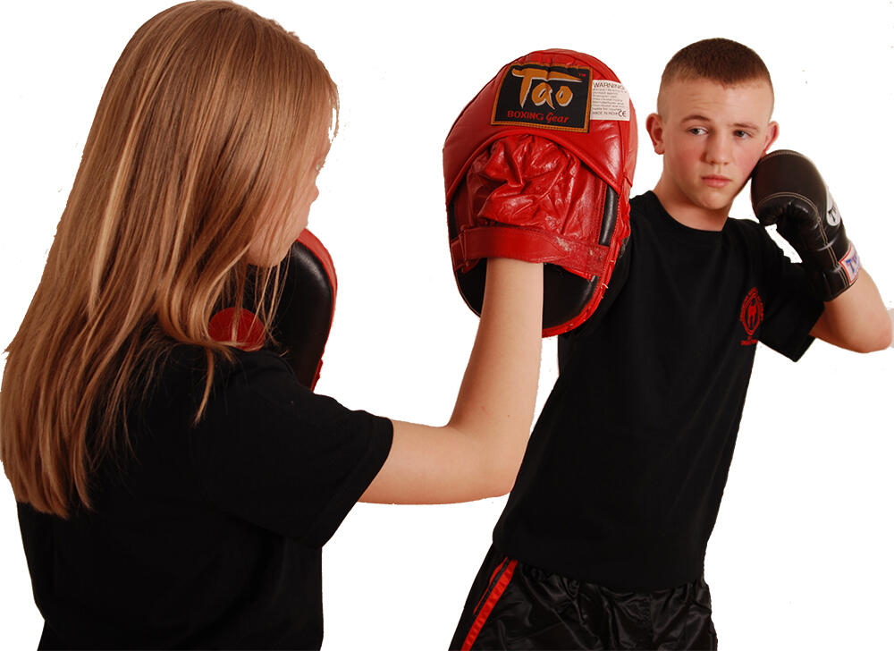 SAMA Kickboxing classes are a great for all the family!!
