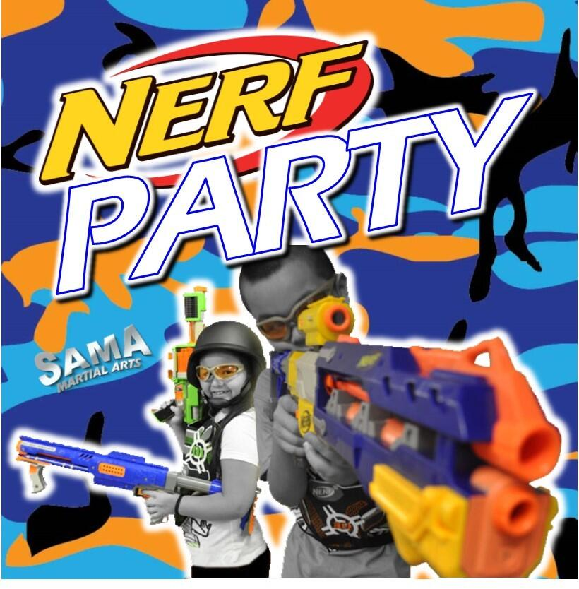 SAMA NERF Birthday Party