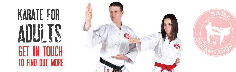 banner Karate for Adults