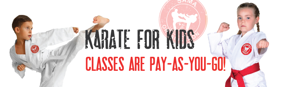 banner Karate for Kids